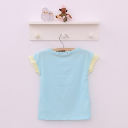 Toddler Irregular Hem Printed Sleeveless T-shirt