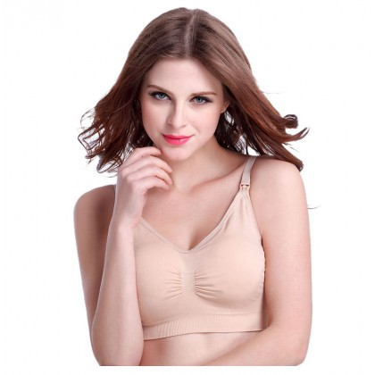 Maternity Nursing Bra - Wireless Seamless Bra (32A-42E)