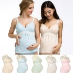 Maternity Nursing Wireless Padded Lace Camisole Bra