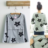 Maternity Nursing Top - Big Star - Long Sleeve